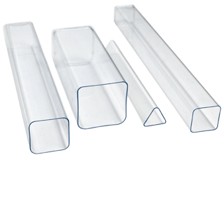 Shaped Open Ended Tubes