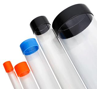 5 Stock Plastic Tubes